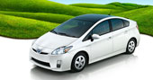 2010 Prius courtesy Toyota  2010 Hybrid Cars for Best Mileage and Lowest Carbon Footprint