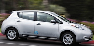 Nissan leaf 2012 300x152 21k Top 10 Electric Car Makers