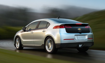 Chevrolet volt 36k Electric Car Sales Increase 228%