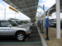 EV Solar  Charging Station Electric Vehicle and Smart Grid Networks