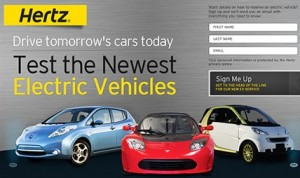 Hertz EV Rental 54K 300x178 Car Sharing Now Has One Million Members