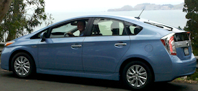 Prius PHV over ocean 40k Prius Plug in Hybrid Comparison with Chevrolet Volt