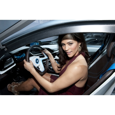 BMW i8 Mission Impossible Paula Patton
