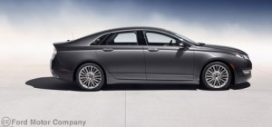 Lincoln MKZ 2013 Full 38k 300x140 2013 Lincoln MKZ Hybrid with Best Premium Car MPG