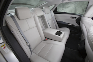 2013 Toyota Avalon Rear Seat