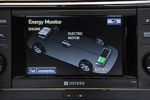Toyota Avalon Hybrid Energy Monitor