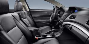 Acura,ILX,Premium, interior,6-speed