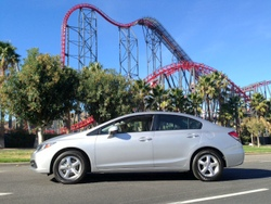 Honda,Civic,CNG,compressed natural gas,alternative fuel,nat gas,