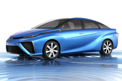 Toyota Mirai, fuel cell, electric car,future car