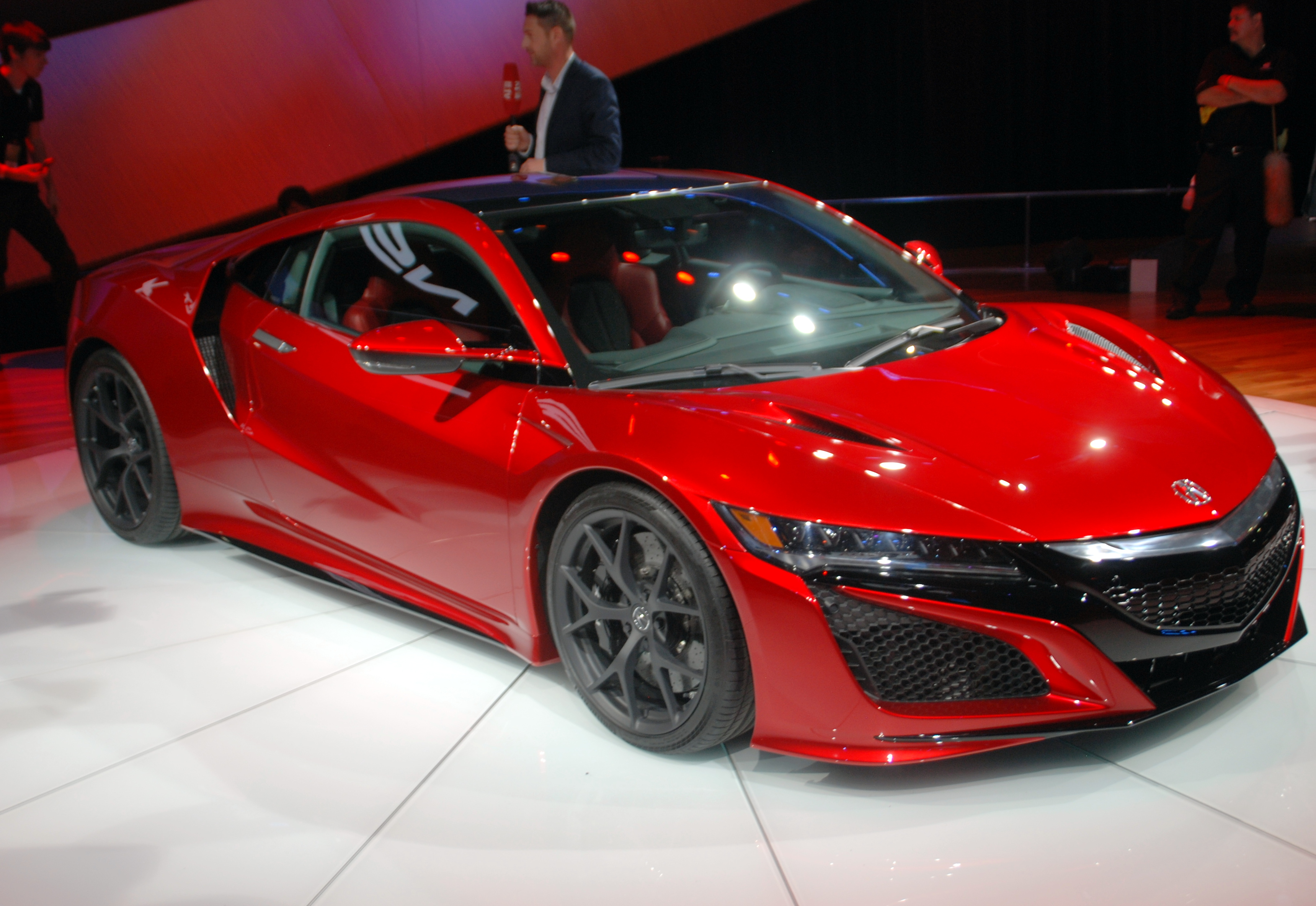 Acura Nsx Hybrid Sports Car Performance Fuel Economy