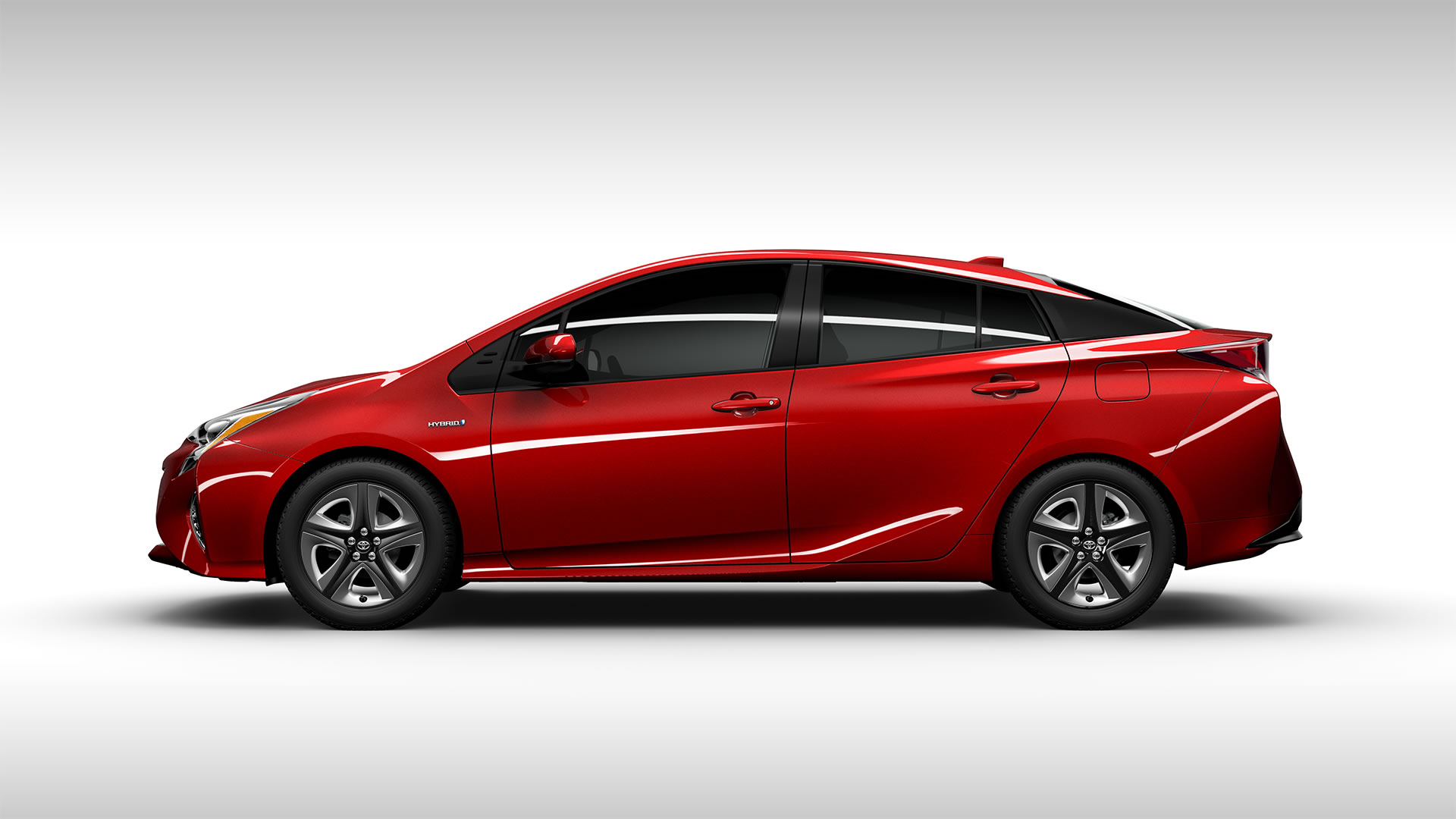 2016 Prius red side - Clean Fleet Report