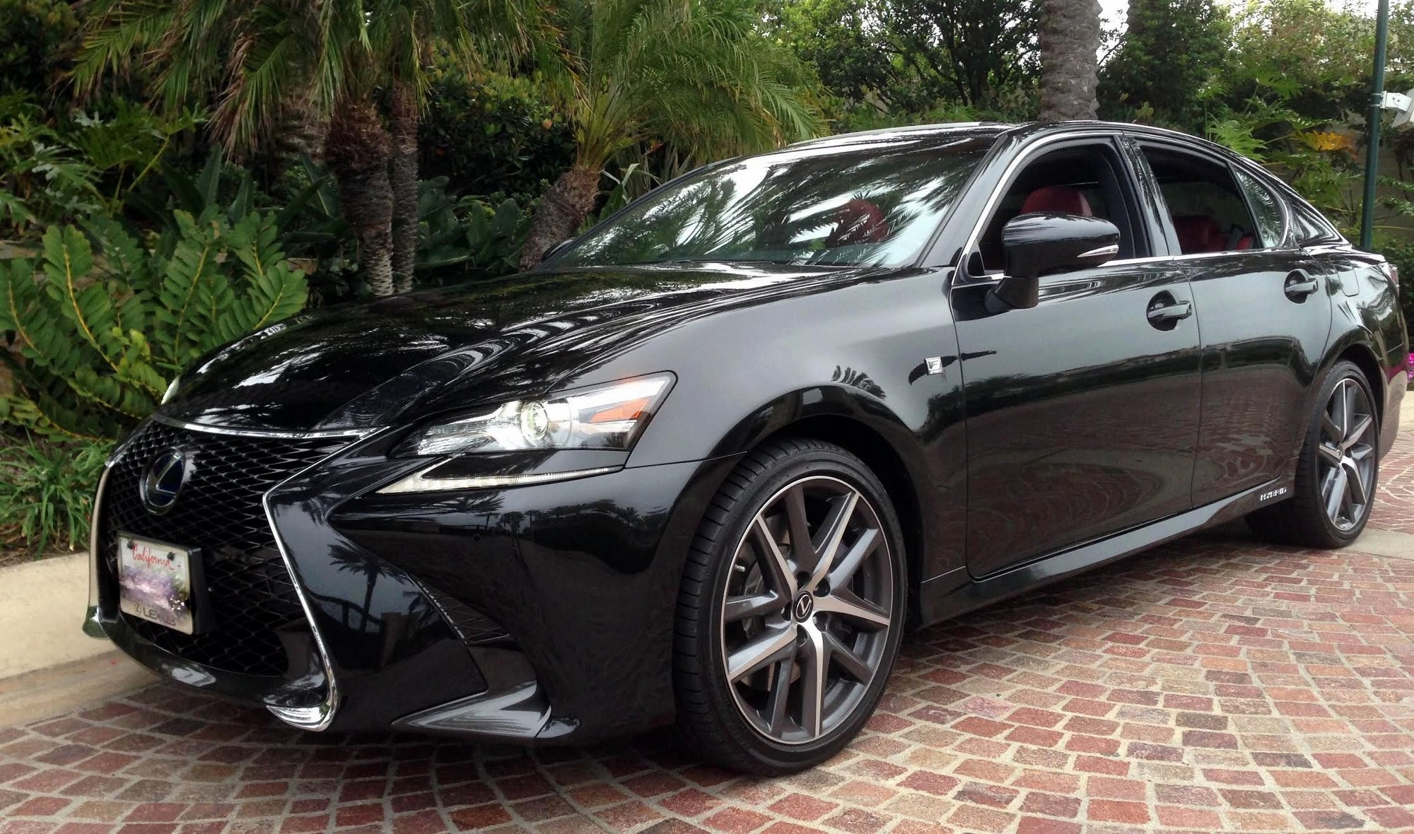 road test 2016 lexus gs 450h f sport clean fleet report. Black Bedroom Furniture Sets. Home Design Ideas