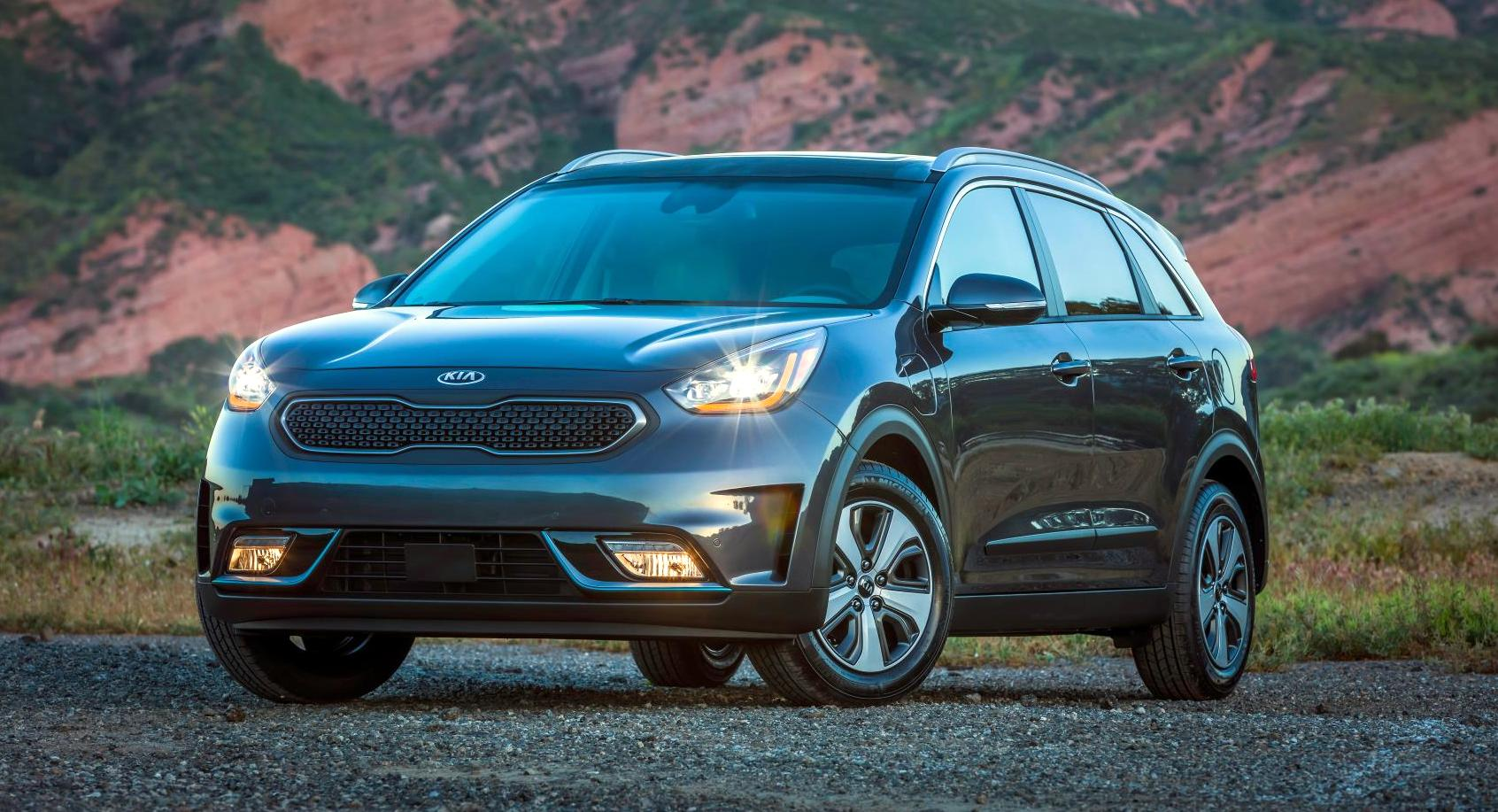 news 2018 kia niro plug in hybrid introduced clean fleet report. Black Bedroom Furniture Sets. Home Design Ideas